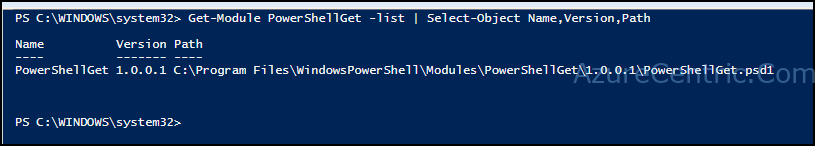 Azure Resource Manager PowerShell Module