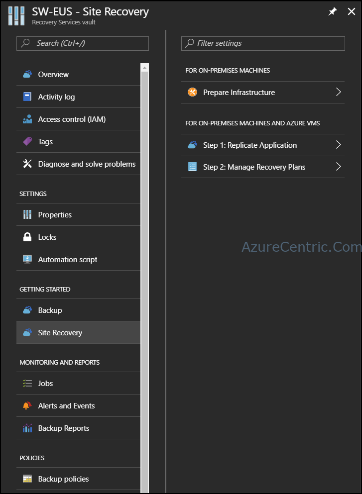 Disaster Recovery solution within Azure – Part 2